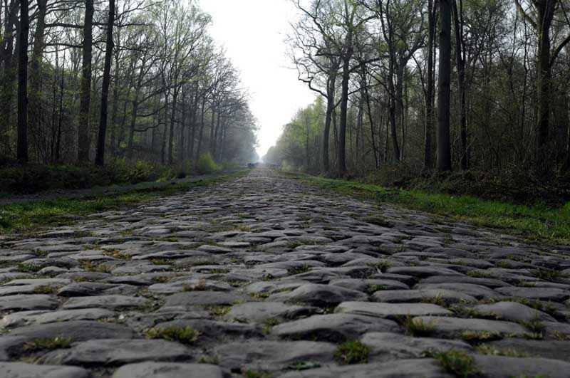 Los adoquines, los reyes del ciclismo en primavera