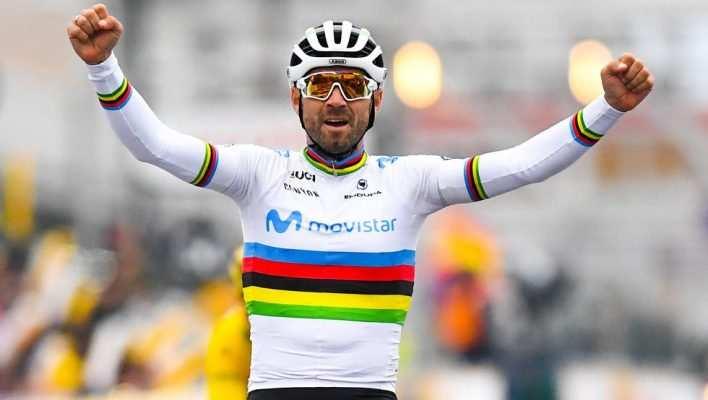 Sería la releche ver a Valverde levantando los brazos en Flandes!!