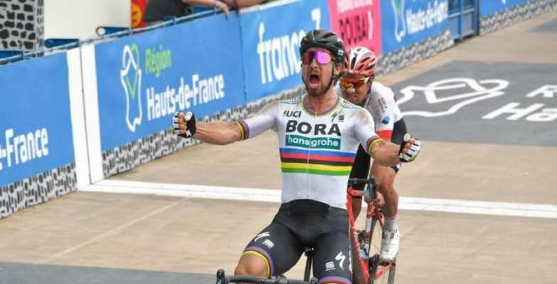 Peter Sagan vencedor en 2018