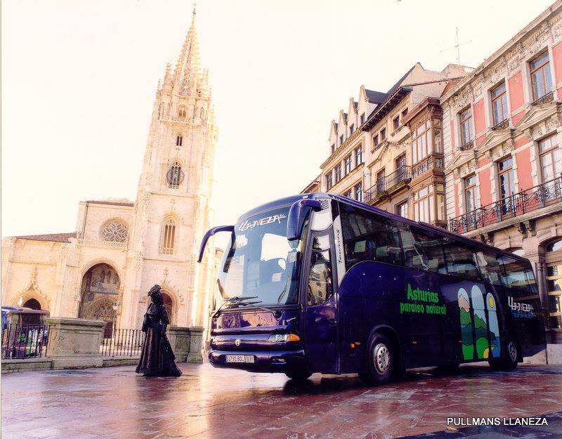 autobus catedral oviedo