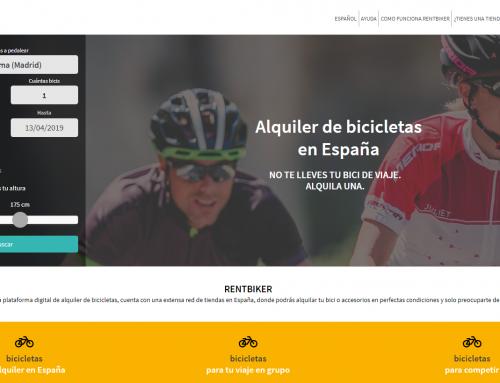 Rentbiker, una web para alquilar bicis a través de las tiendas