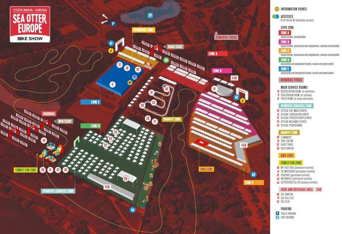 Mapa See Otter Festival 2019