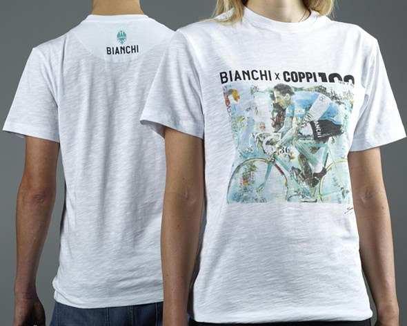 Camiseta Bianchi Fausto Coppi 100 aniversario