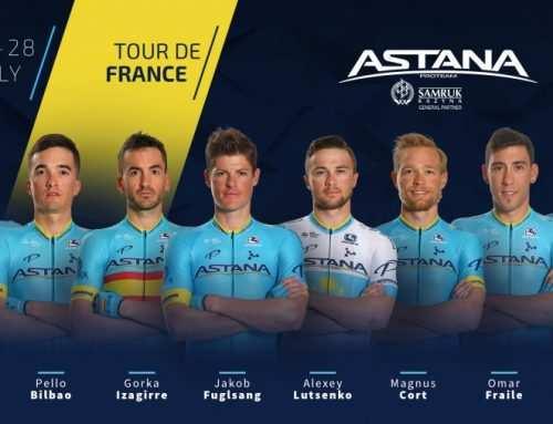 El españolizado Astana de Fulgsang que aspira a todo en el Tour