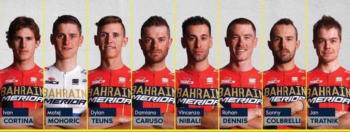 Bahrain Merida en el Tour de Francia 2019