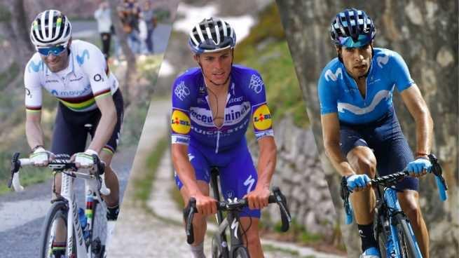 Landa y Mas y también Valverde que asoma en las apuestas