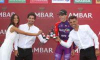 Ambar lleva la cerveza al pódium de La Vuelta por primera vez en la historia