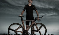 Laurent Jalabert y su espectacular bici Look para el Iron Man de Kona