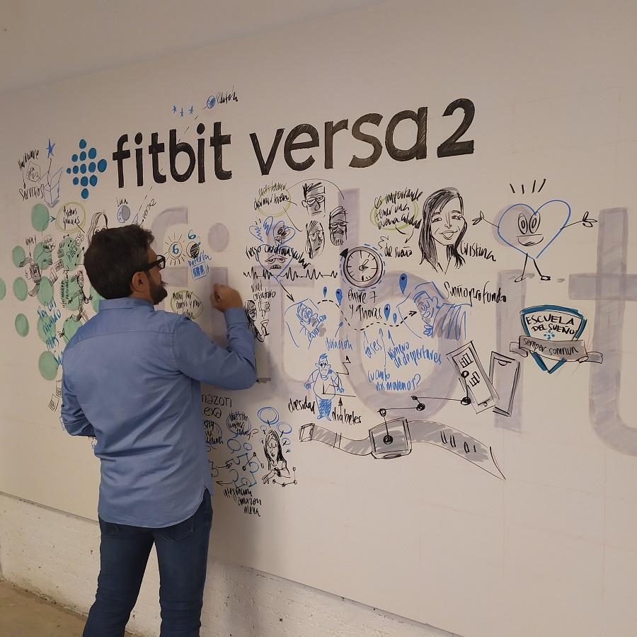 Evento de presentación Fitbit Versa 2