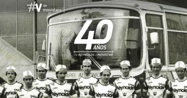 Imagen promocional del documental 40 años: de Reynolds a Movistar