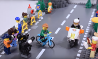 Los grandes hits de Peter Sagan, recreados con Lego