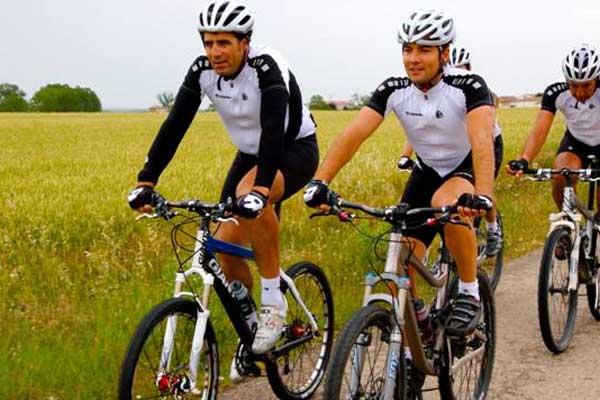Bisbal en bici