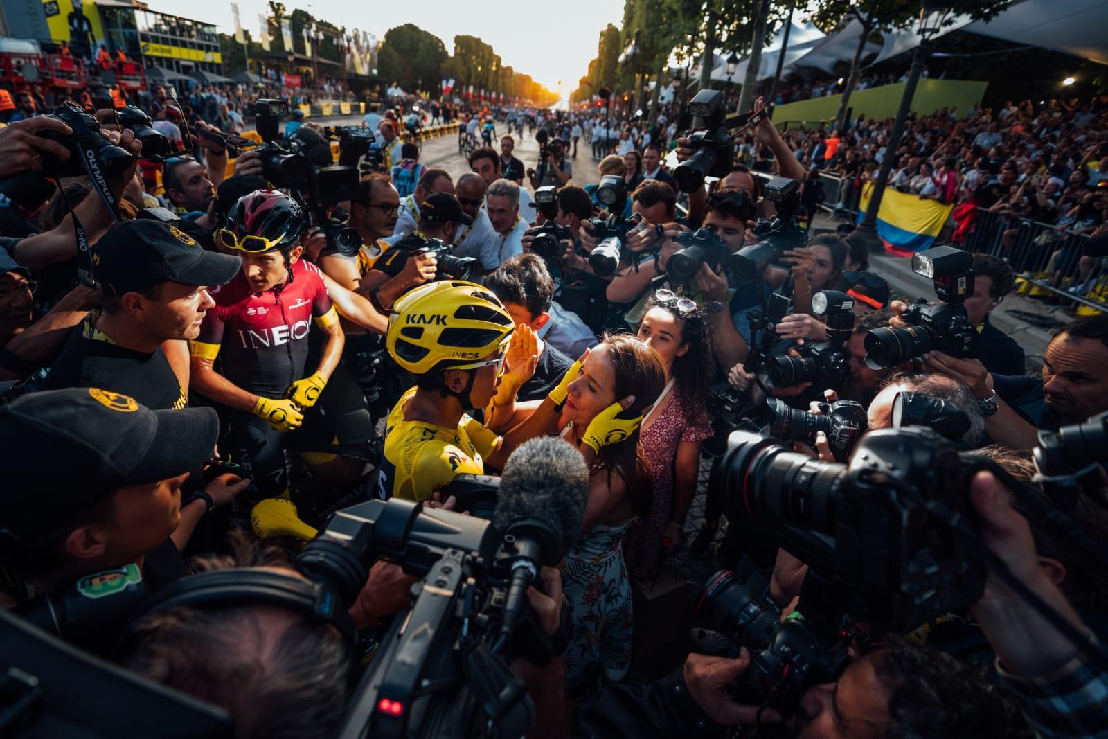 Bernal Mejor ciclista 2019