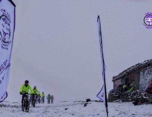 Propósito ciclista para el nuevo año: Pedalear por el Annapurna a 5400 metros de altura