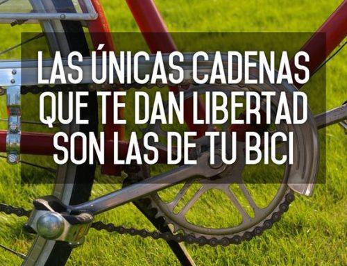 Frases de 'bicicleteros': Inspírate motívate, reflexiona o simplemente diviértete
