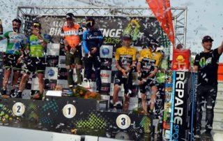 Podium de la Algarve Bike Challenge 2020
