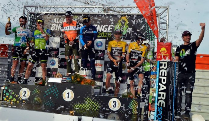 Podium de la Algarve Bike Challenge 2020