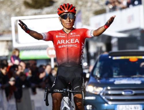 Quintana rompe en el Ventoux el récord de Pantani