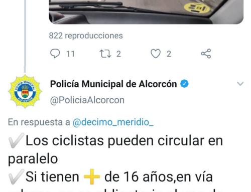 La contundente e impecable respuesta de la policía de Alcorcón