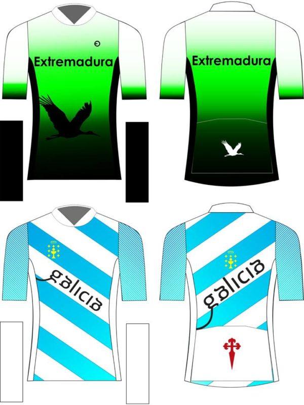 maillot ciclista Extremadura