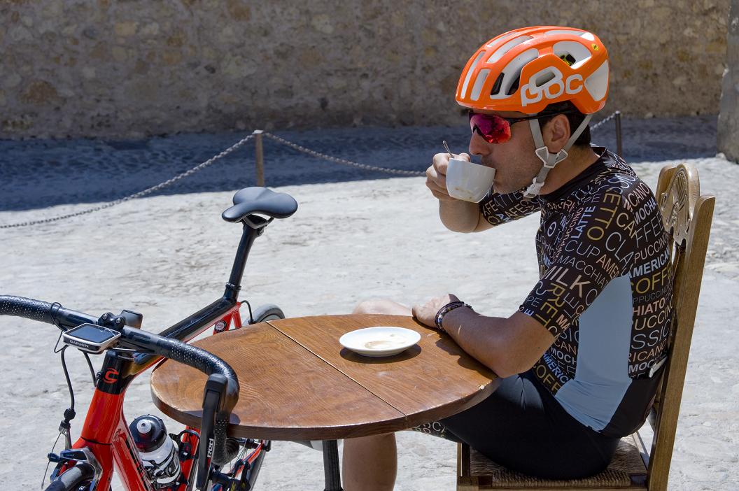 café ciclistas