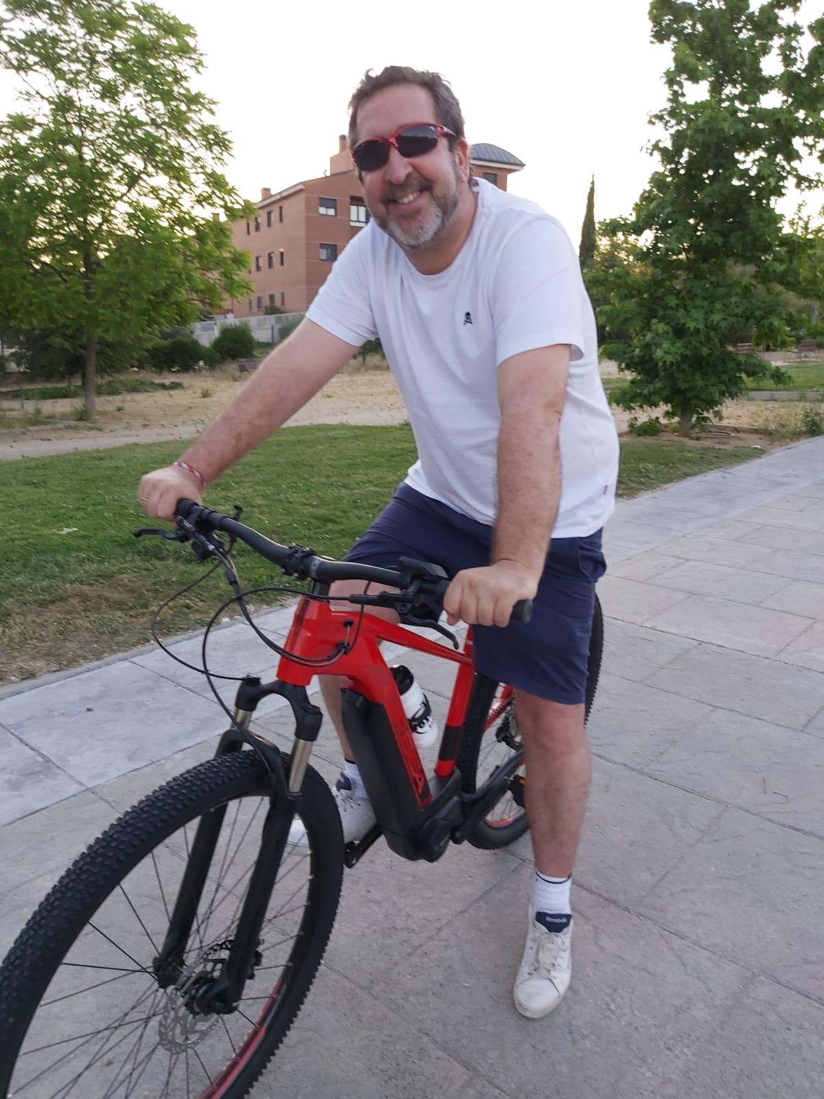ciclista Madrid