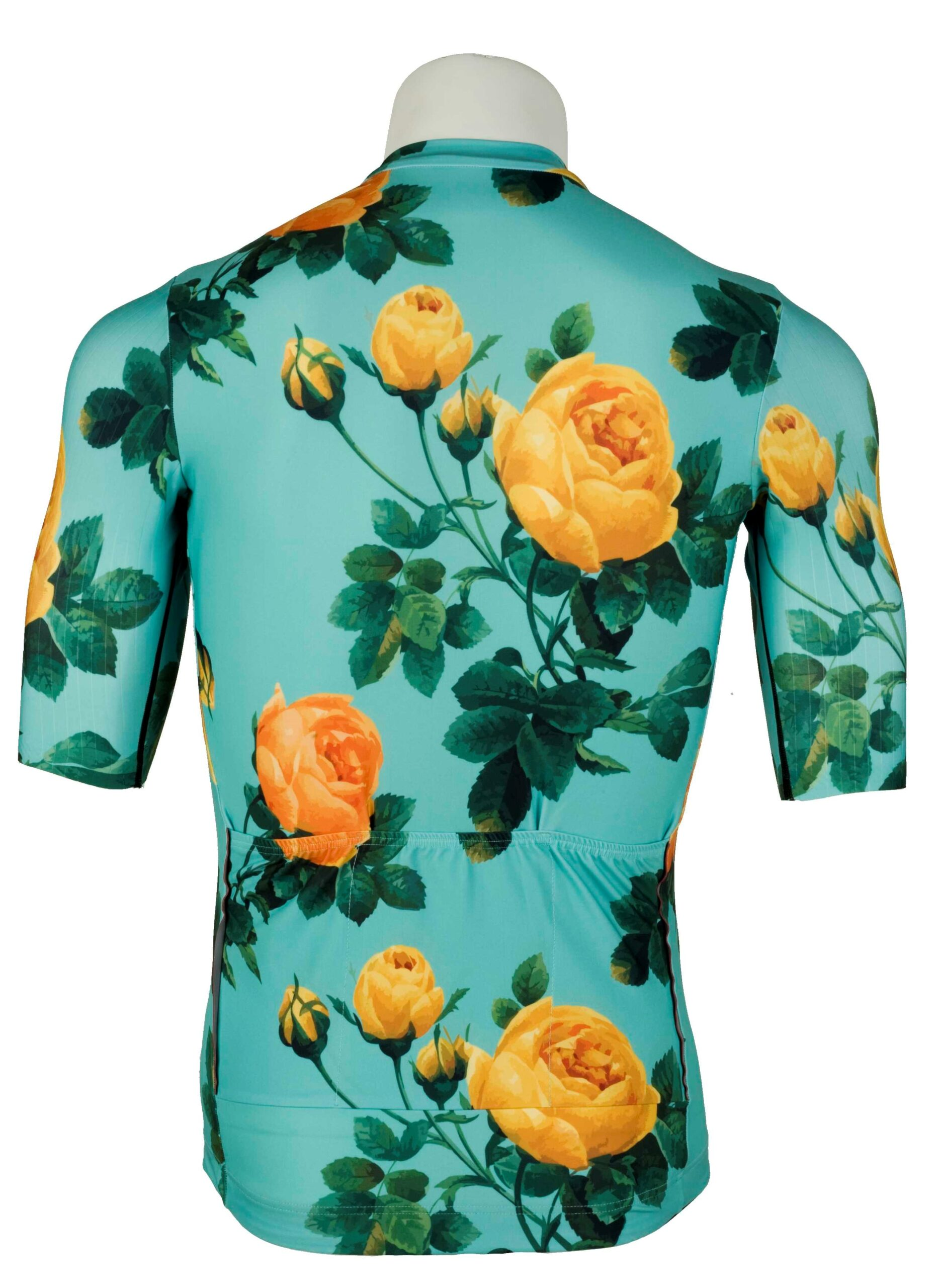 maillot ciclismo flores