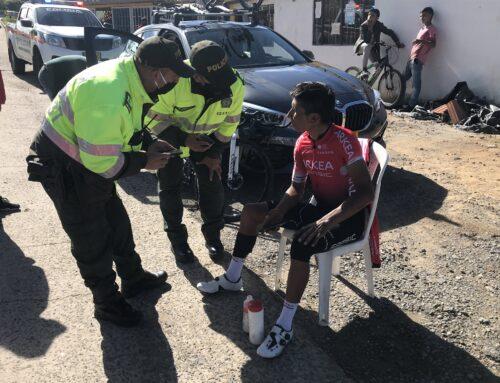 Nairo Quintana, atropellado mientras entrenaba