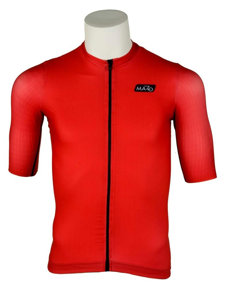 maillot air pro rojo de ciclismo
