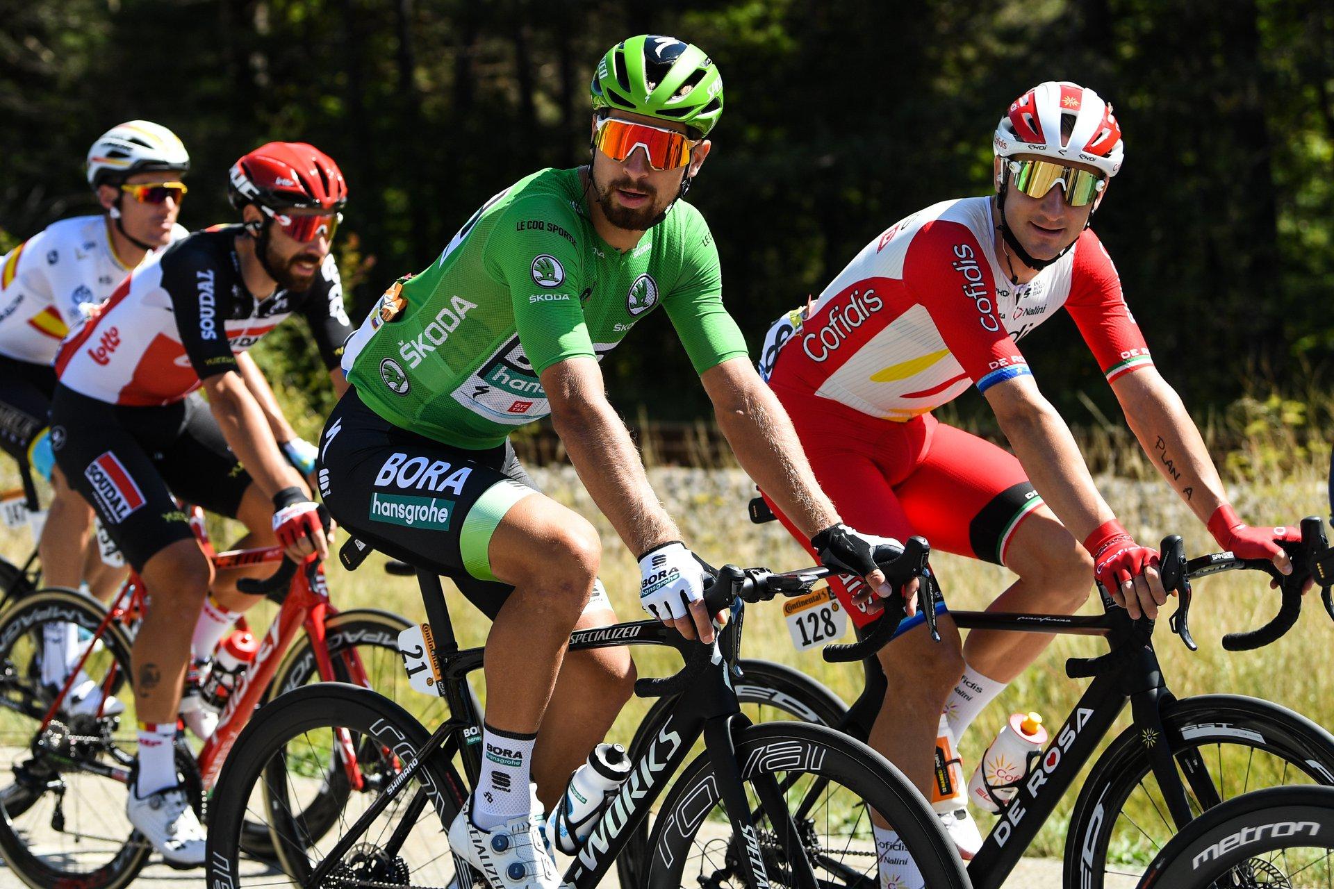 maillot verde tour