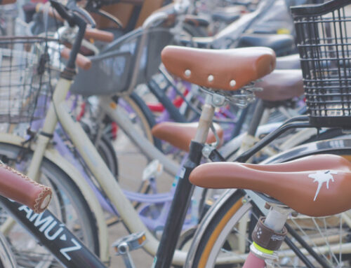 Inventa pegatinas con forma de caca de pájaro para evitar que te roben la bici