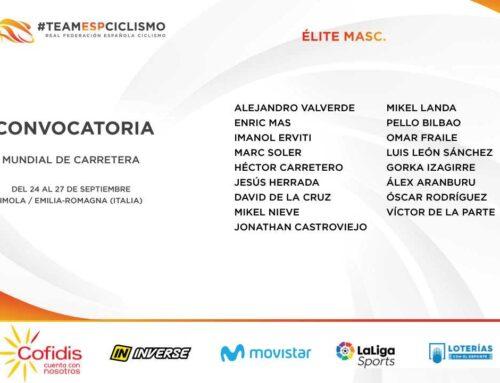 España anuncia su preselección para el Mundial de Ciclismo de Imola