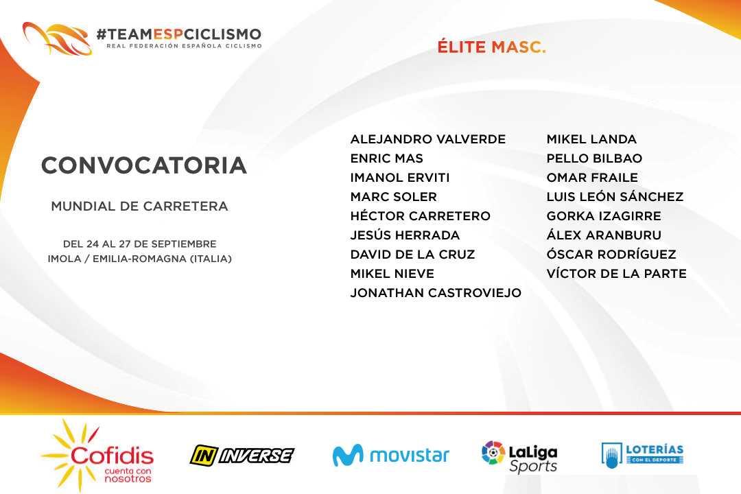 seleccion españa ciclismo