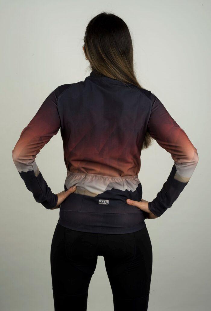 maillot manga larga mujer oscuro