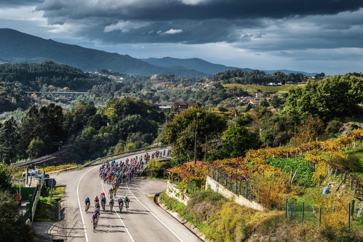 Ciclismo otoño España