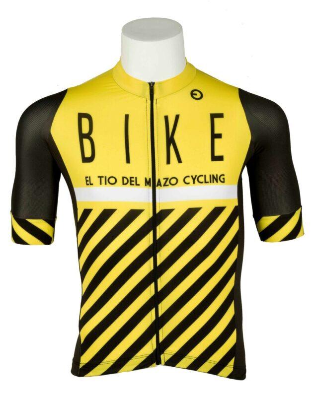 maillot amarillo y negro