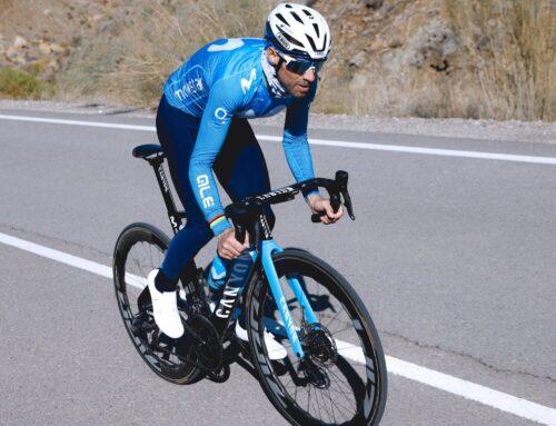 Valverde, el más veterano del World Tour. Ayuso, el más joven.