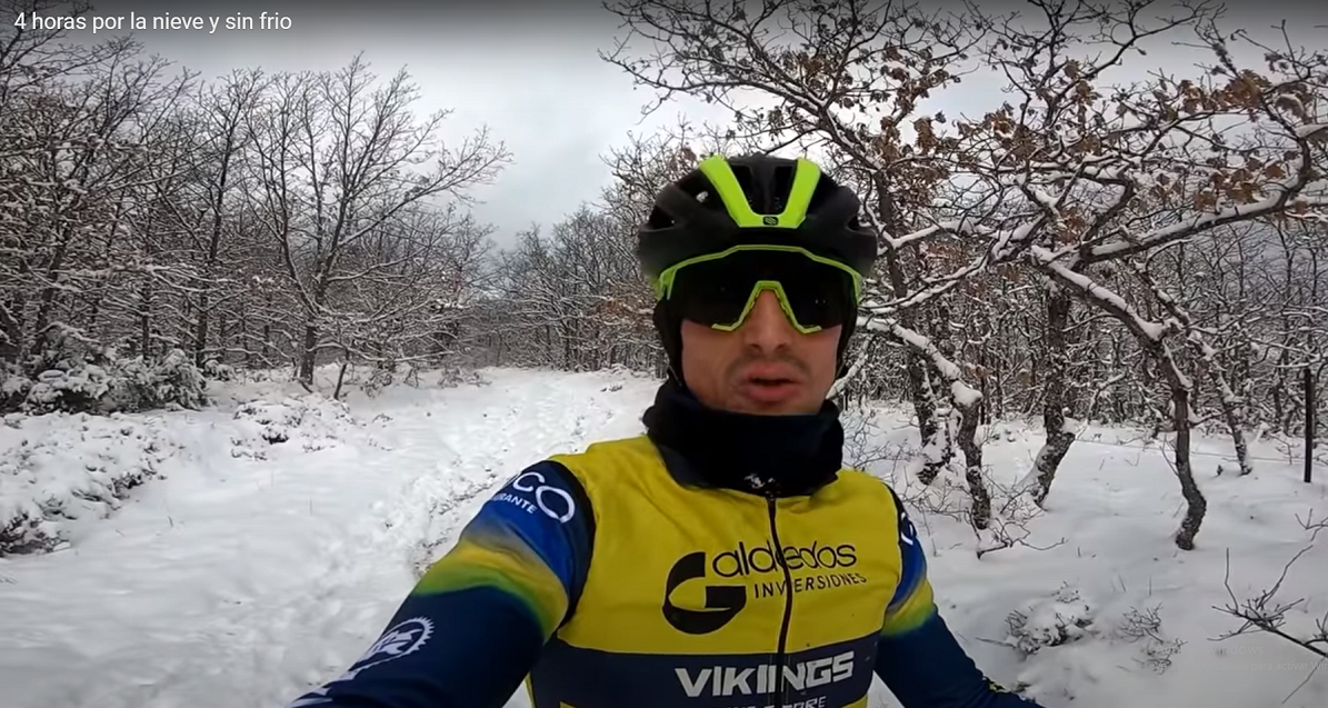 ruta bici nieve