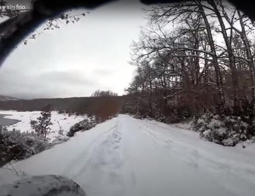 Cómo hacer una ruta en bici de 4 horas por la nieve sin frío