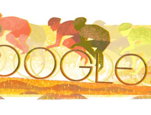 Los doodles de ciclismo y bicicletas que ha hecho Google