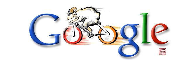 pekin cycling doodle