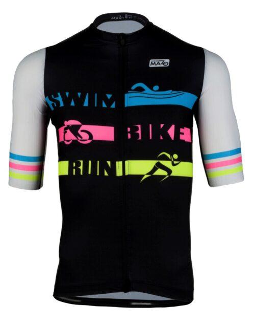 maillot fit de ciclismo hombre