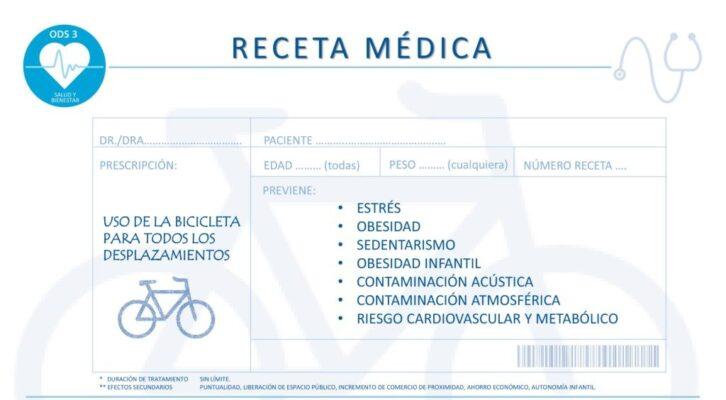 Receta médica bici