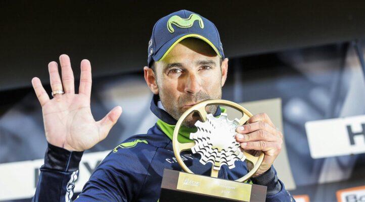 Valverde celebra su 5º triunfo en la Valona