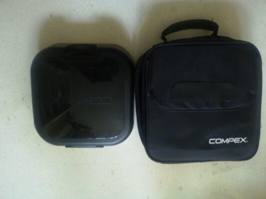 Caja de carga y maleta acolchada de Compex SP8