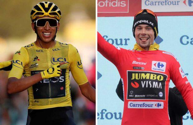 Bernal Vs Roglic: La batalla más esperada de La Vuelta 2021
